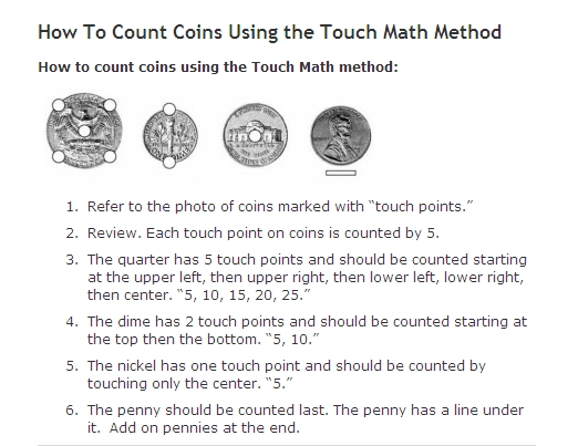 TouchMath Coins - Mrs. Smithu0026#39;s Website